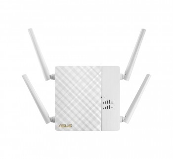 Asus RP-AC87 Dual-Band Repeater (Wi-Fi 5 AC2600, 1x Gigabit LAN, High-Power Antennen, ExpressWay, App-Steuerung)