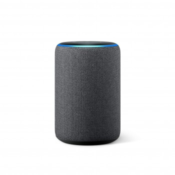 Amazon Echo (3. Generation), smarter Lautsprecher mit Alexa, Anthrazit Stoff