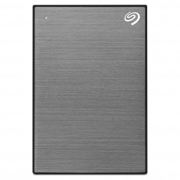 Seagate Backup Plus Slim, tragbare externe Festplatte, 1 TB, 2.5 Zoll, USB 3.0, PC & Mac, space grey, ModelNr.: STHN1000405