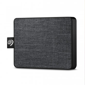 Seagate One Touch SSD, 500 GB, Portable externe SSD, 2.5 Zoll, USB 3.0, PC & Mac, schwarz, Modellnr.: STJE500400