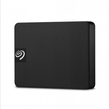 Seagate Expansion SSD, 500 GB, Portable externe SSD, 2.5 Zoll, USB 3.0, PC & Mac, schwarz, Modellnr.: STJD500400