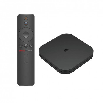 Xiaomi Mi Box S 2 GB RAM + 8 GB Speicher 4K Ultra HD-Multimedia-Player mit Google Assistant-Fernbedienung, Bluetooth, 4K HDR, Dolby Audio, DTS HD, Android 8.1