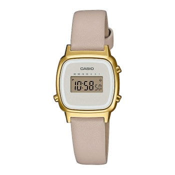 Casio Collection Retro Damen Digital Armbanduhr