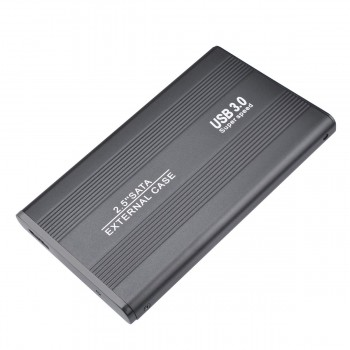 Externe Festplatte USB 3.0 Tragbare Festplatte extern für PC, Mac, Desktop, Laptop, MacBook, Chromebook (2tb, Black)