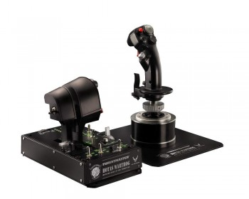 Thrustmaster HOTAS WARTHOG - PC - Joystick + Mando de potencia réplica HOTAS (Hands On Throttle And Stick) del avión de…