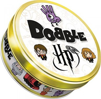 Asmodee- Dobble Harry Potter, Multicolor (Zygomatic ASMD0050)