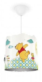 Philips Disney Winnie l'Ourson Suspension Luminaire pour Enfant E27 230 V