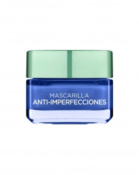 L 'OREAL PARIS arcillas pures Masque Anti-imperfections bleu