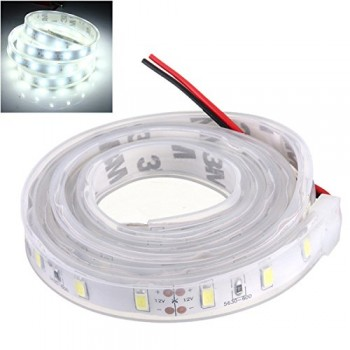 MASUNN 1 M 5630 SMD LED Silicone Strip Light Cool Blanc Étanche 12V