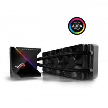 ASUS - 90RC0020-M0UAY0 - In One ROG RYUJIN - Kit Watercooling All - 3 Ventilateurs 360 mm - Interface OLED