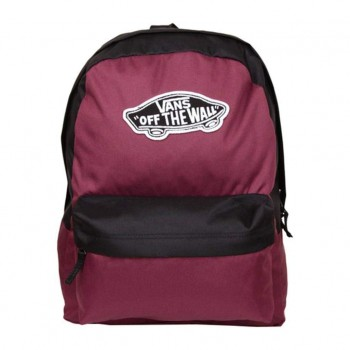 Vans Realm Backpack Sac à Dos Loisir 42 Centimeters 22 Violet (Prune-Black)