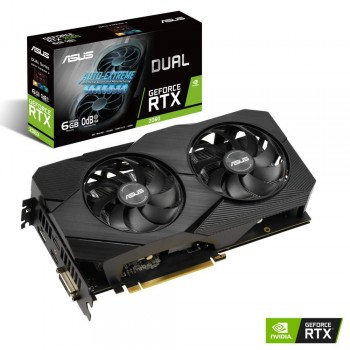 ASUS ROG Strix NVIDIA GeForce RTX 2060 EVO Carte Graphique Gaming (6GB GDDR6, PCIe 3.0, Axial fan, MaxContact, Auto-Extreme, GPU Tweak II, 144hr validation)