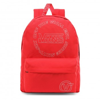 Vans Old Skool Iii Sac à dos décontracté, Rouge (Hibiscus). (Rouge) - VN0A3I6R