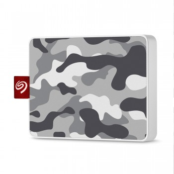 Seagate One Touch 500GB Camouflage gris/blanc.