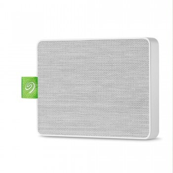Seagate UltraTouch SSD 1To, SSD externe portable – blanc, USB-C et USB3.0, pour PC et Mac, application Seagate Mobile Touch pour Android, Mylio et Adobe (STJW1000400)