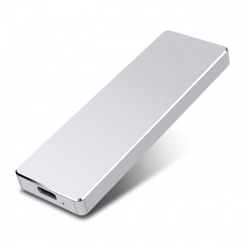 Hattahh 1to Disque Dur Externe Portable Ultra Mince Type C USB 3.1 Disque Dur pour PC, Mac, Windows, Apple, Xbox Slim…