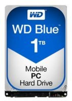 "WD WD10JPVX Blu Hard Disk Mobile da 1 TB, 5400 RPM, SATA 6 GB/s, 2.5 "", 9.5 mm"