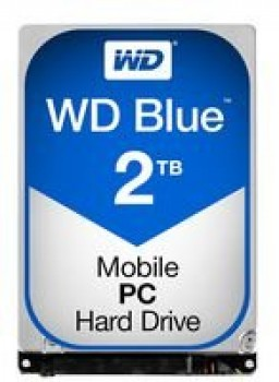 "WD WD20NPVZ Blu Hard Disk Mobile da 2 TB, 5400 RPM, SATA 6 GB/s, 2.5 "", 15 mm"