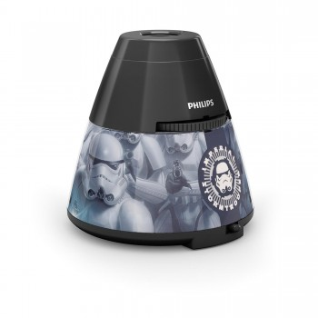 Philips Lighting  Lampada da Tavolo Star Wars, Proiettore LED, Nero