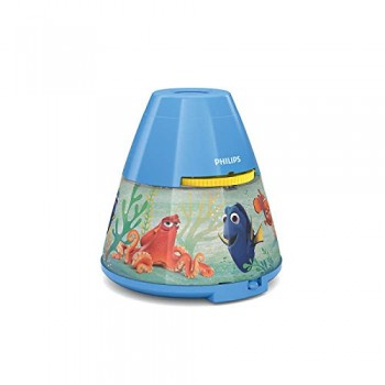 Philips Lighting  Lampada da Tavolo Finding Dory, Proiettore LED, Blu Scuro