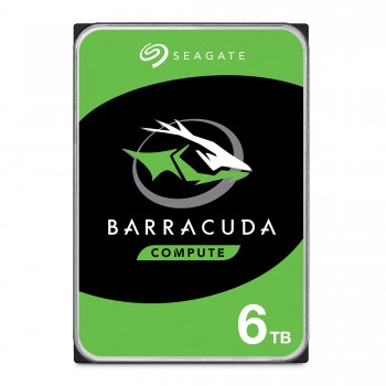 "Seagate Barracuda 6TB HDD 6000GB Serial ATA III internal hard drive - Internal Hard Drives (3.5"", 6000 GB,  5400RPM, Serial ATA III, 256 MB, HDD)"