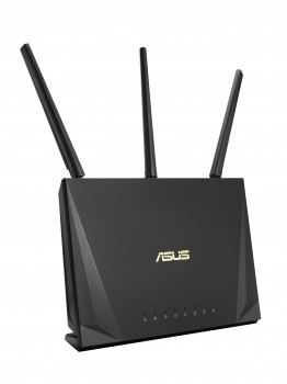 ASUS RT-AC65P router wireless Dual-band (2.4 GHz/5 GHz) Gigabit Ethernet Nero