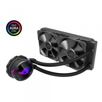 ASUS ROG STRIX LC 240 Cooler CPU All-in-One ROG con Illuminazione Addressable RGB, Aura Sync, Rivestimento Pompa NCVM e…