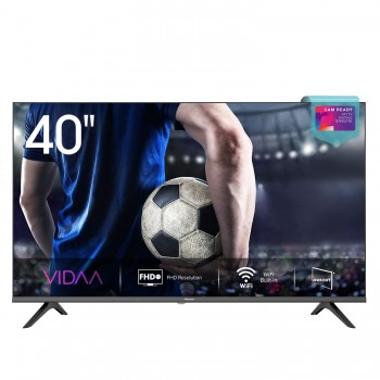 "Hisense 40AE5500F Smart TV LED FULL HD 40"", Bezelless, USB Media Player, Tuner DVB-T2/S2 HEVC Main10 [Esclusiva Amazon - 2020]"