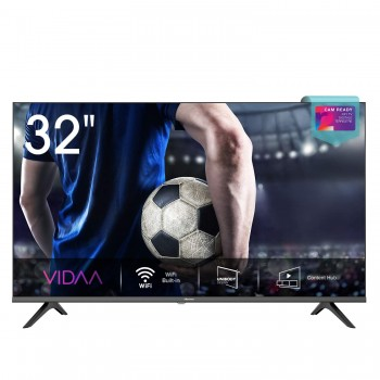 "Hisense 32AE5500F Smart TV LED HD 32"", Bezelless, USB Media Player, Tuner DVB-T2/S2 HEVC Main10 [Esclusiva Amazon - 2020]"