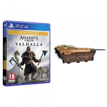 Assassin's Creed Valhalla - GOLD EDITION - PS4 + Assassin'S Creed Valhalla - Hidden Blade Replica